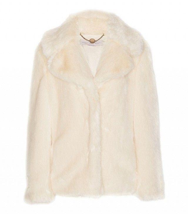 Stella McCartney Faux Fur Coat