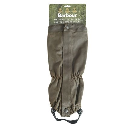 Wax Cotton Gaiter-Footwear Accessories-Olive-Back-UFA0002OL51.jpg