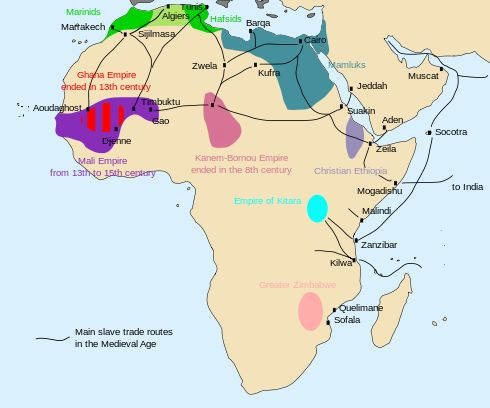 17 best madagascar images by nikki nally on pinterest madagascar arab muslim slave trade the main slave routes in africa during the middle gumiabroncs Gallery
