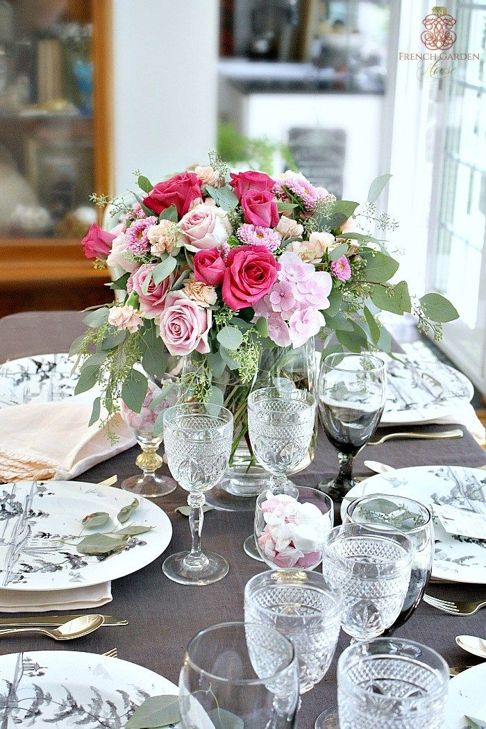 ROMANTIC FRENCH COUNTRY TABLE SETTING TIPS. & country table settings \u2013 Loris Decoration