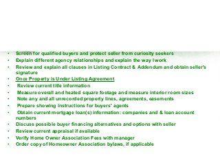 FREE Real Estate Listing Presentation