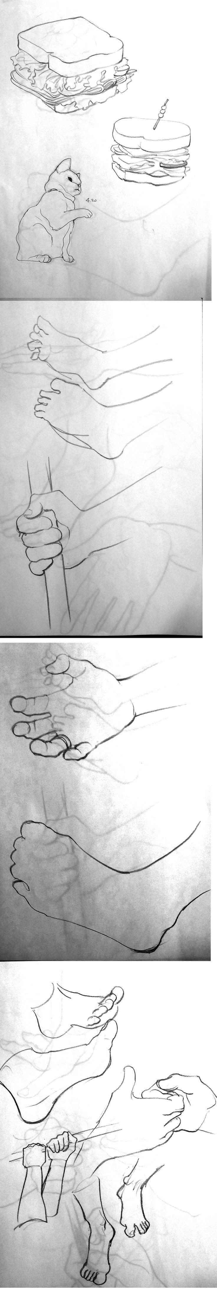 No.74~84 / 2min. Drawings / ref : artist.pixelovely.com