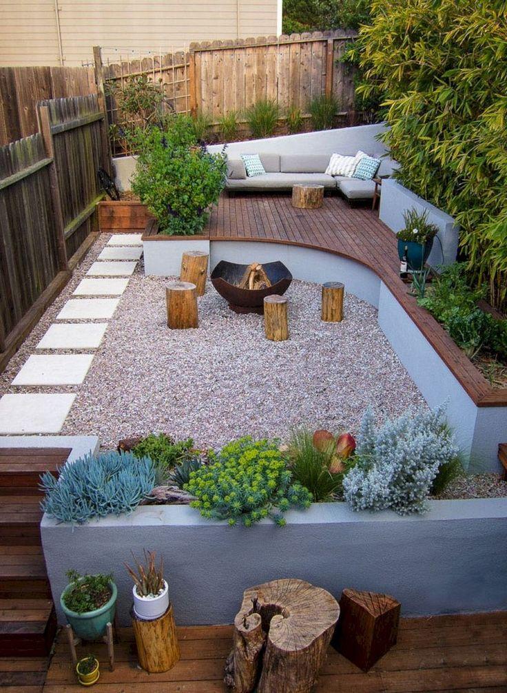 cozy backyard patio design