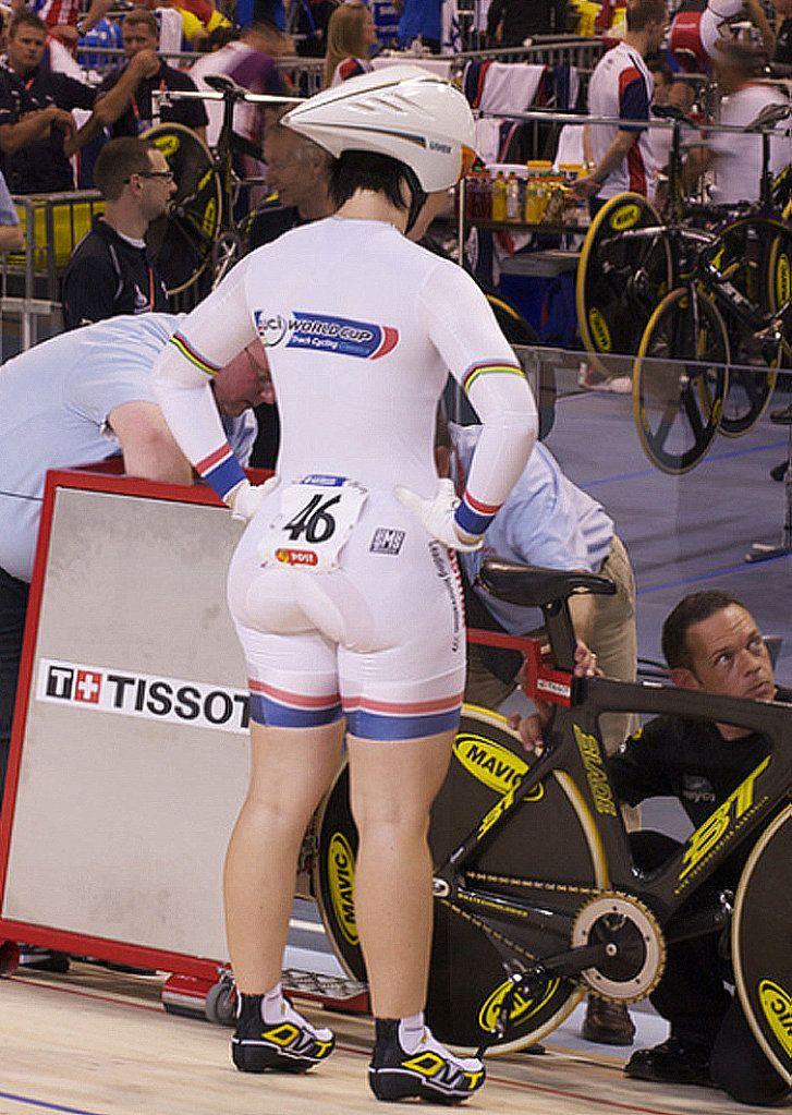 Cyclists Anna Meares  Kristina Vogel Causing Stir For -2955