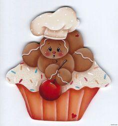 Resultado de imagen para dibujos de galletas de jengibre country