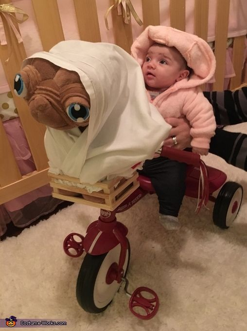 elliot with et baby halloween costume idea - Toddler And Baby Halloween Costume Ideas