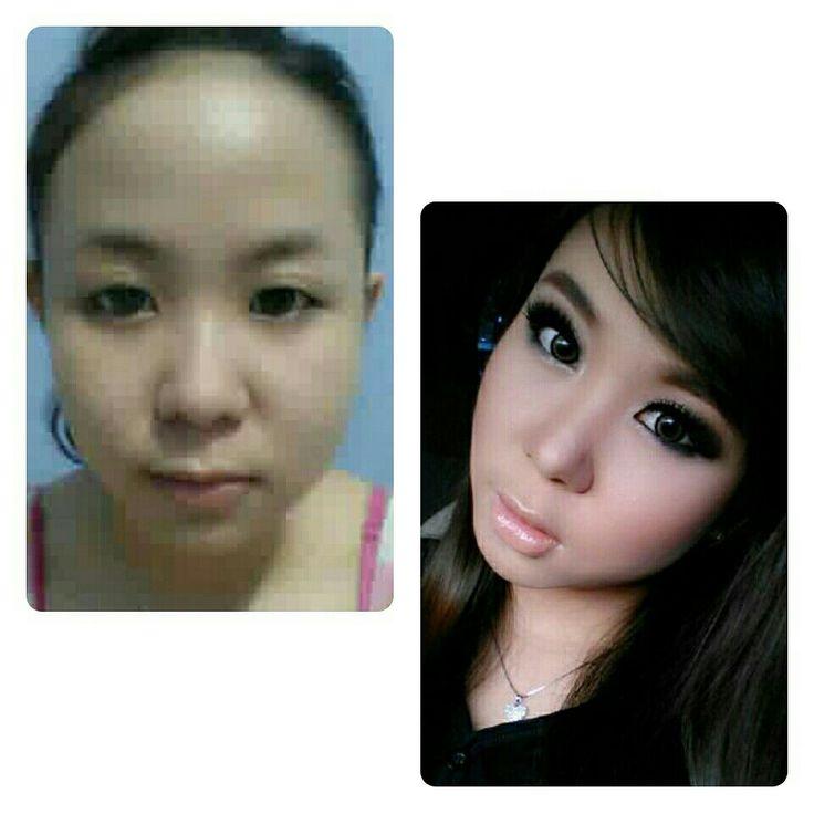 Asian girl - smokey eyes