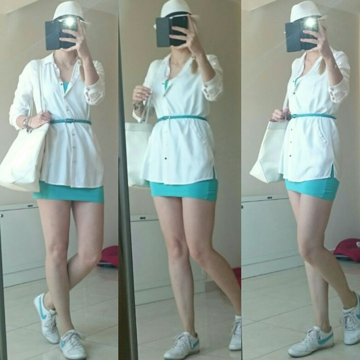 #hot #Summer #turquoise OOTD