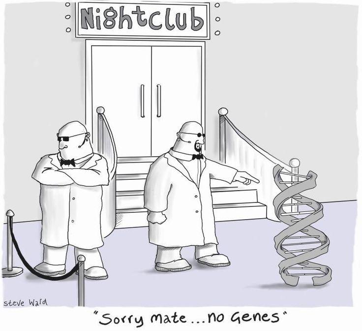 No genes allowed