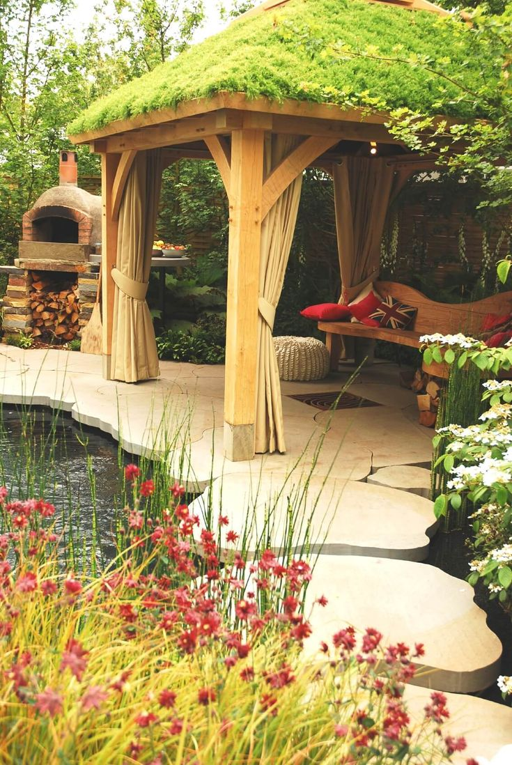 30 grill gazebo ideas to fire up your summer barbecues grill