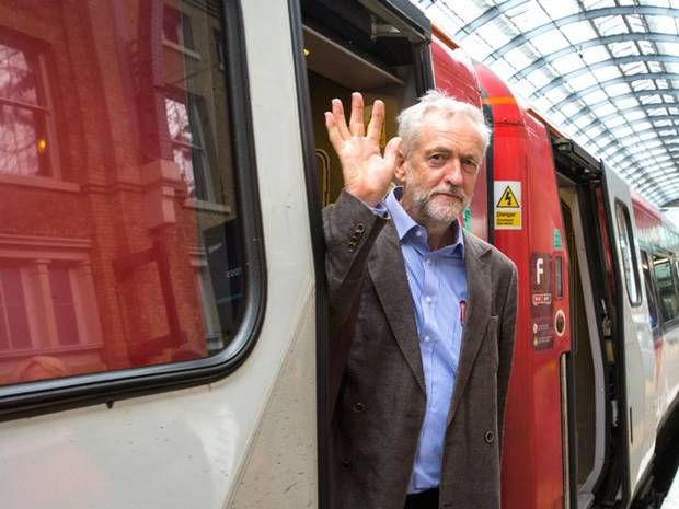Jeremy Corbyn reveals first official policy: To renationalise the railways - UK Politics - UK - The Independent