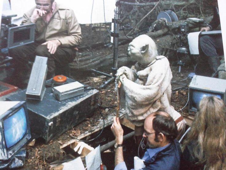 Frank Oz performs Yoda