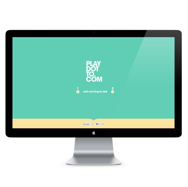 Play-Dot-To.com by Pascal Set Sail, via Behance