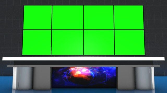 Virtual News Set Free Download Virtual Studio Background For Green Screen Chroma Key Mtc Tutorials In 2020 Studio Background Greenscreen Chroma Key