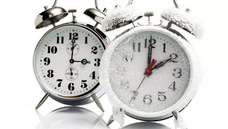 De este modo notaréis menos el cambio de horario