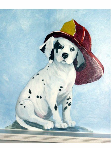 bedroom click on image to enlarge fireman puppy theme nursery