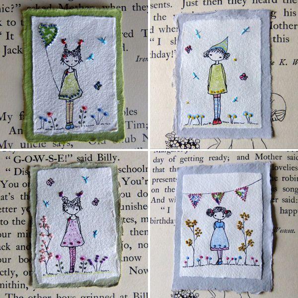 Elas são anjinhos, fadinhas, duendes, menininhas sapecas e adoráveis, tão adoráveis como o nome da marca - Lili Popo . São bordadas, e/o...