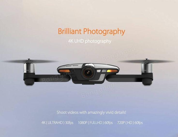 Only US$499.00, buy best Wingsland S6 Pocket Selfie Drone WiFi FPV With 4K UHD…
