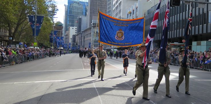 The banner of The Returned and Services League of Australia (New South Wales Branch)