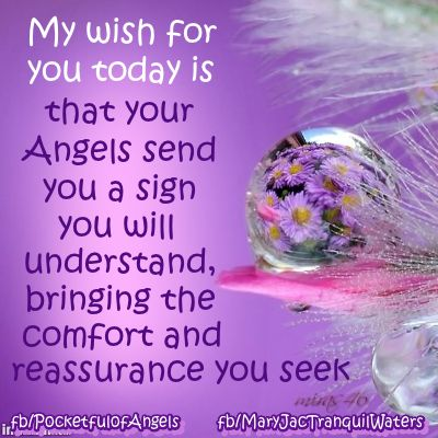 Wishes for you - Image quotes - Sayings - Good luck - Wishes - Abundance - Companionship - Comfort #wish #angels