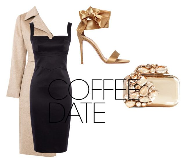 """Untitled #155"" by isagarcia18 on Polyvore featuring MaxMara, Gianvito Rossi, Jimmy Choo and Karen Millen"