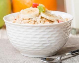 Porridge gourmand pour petit déjeuner minceur et détox