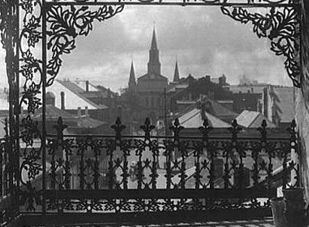 A view on an ancient New Orleans..