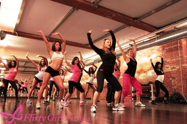 Trooper, taking flirty girl fitness classes