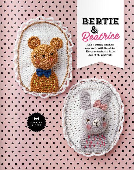 #crochet taxidermy pattern in @molliemakes