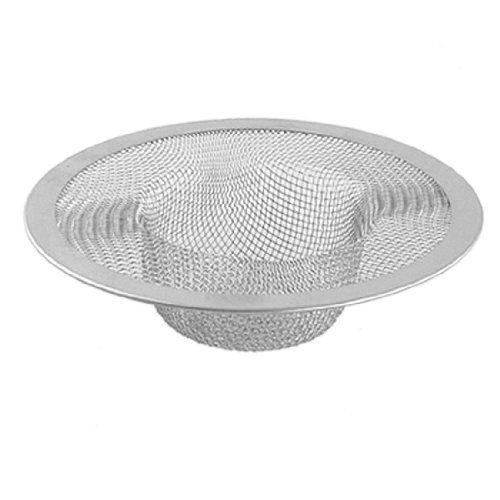 5pcs/lot New Silver Kitchen Basket Drain Garbage Stopper Metal Mesh Sink Strainer