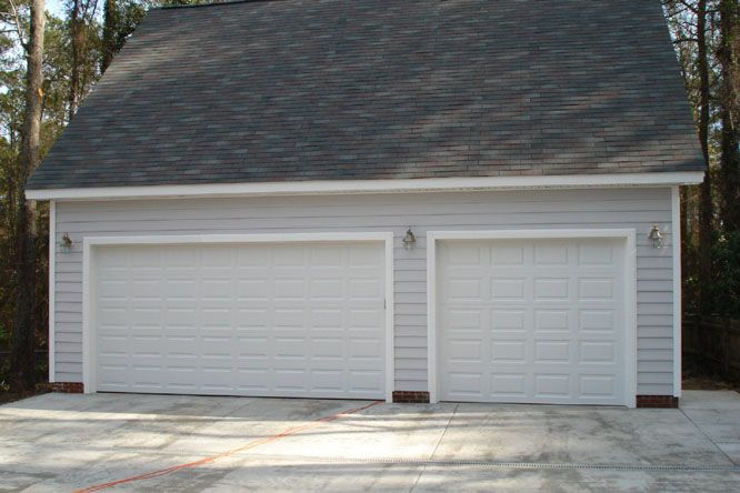 28 best images about garage on pinterest 3 car garage for Garage building packages