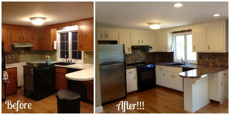 Best Check Out Katie S Lovely Kitchen Makeover She Used 400 x 300