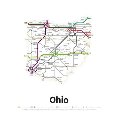 transit maps graphic design and photography
