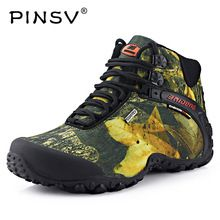 PINSV New Waterproof Canvas Hiking Men Shoes Trekking Boots Outdoor Camouflage Hunting Climbing High Top 2017 Plus Large Size 10 //Price: $US $39.34 & FREE Shipping //   #watches #bracelets #rings #shirts #earrings #dress