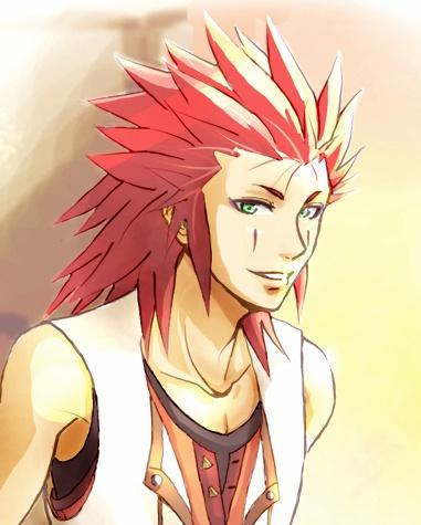 Axel - Kingdom Hearts