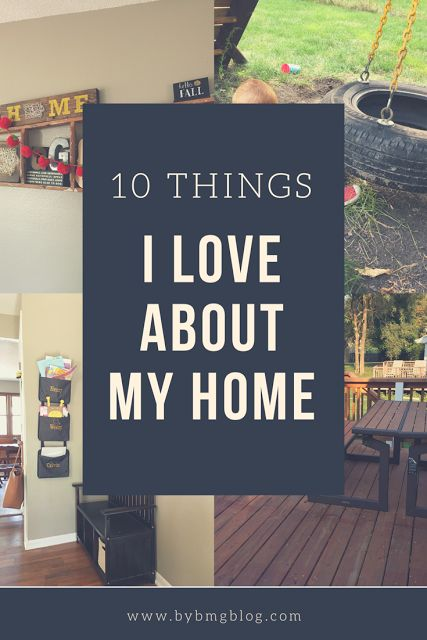 10 Things I Love About My Home - Home Inspiration - Contentment