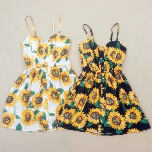 How to Chic: SUNFLOWER ROMPERS - FASHION SET