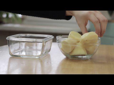 Картофельные чипсы в микроволновке - YouTube