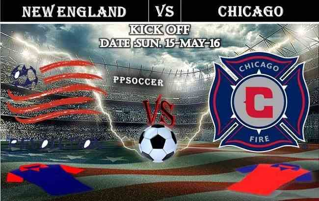 New England Rev. vs Chicago Fire 15.05.2016 Free Soccer Predictions, head to head, preview, predictions score, predictions under/over USA MLS