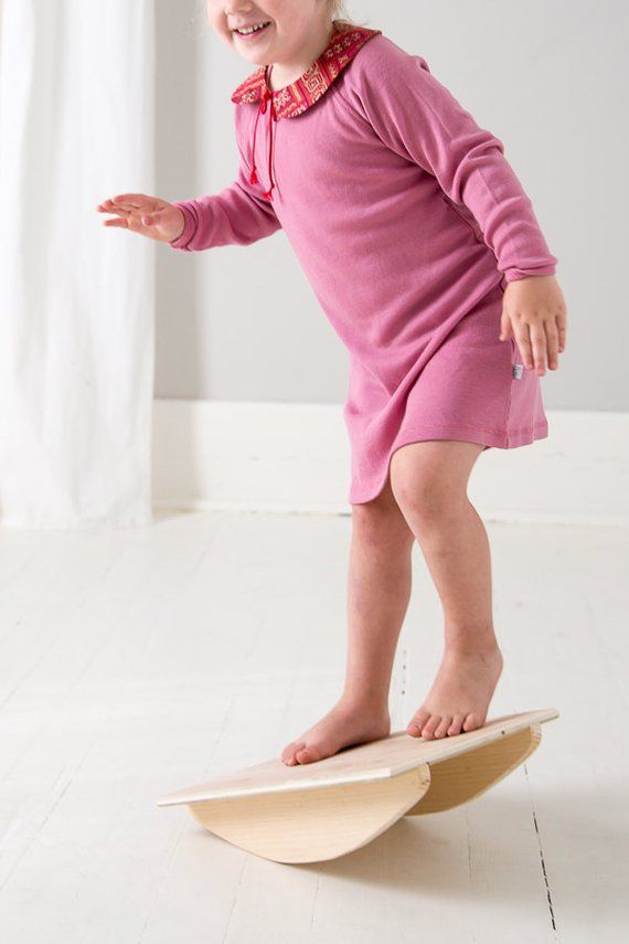 The Original Balance Board – Montessori Toy – Wobble Board – Rocker Board – Fidget Toy – Balance Toy – Montessori