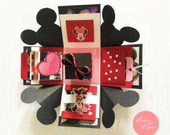 Liebe Explosion Box / / Love Explosion Box / / von primpapershop