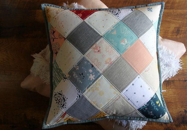 Maureen Cracknell Handmade: A Winter Patchwork Pillow : :