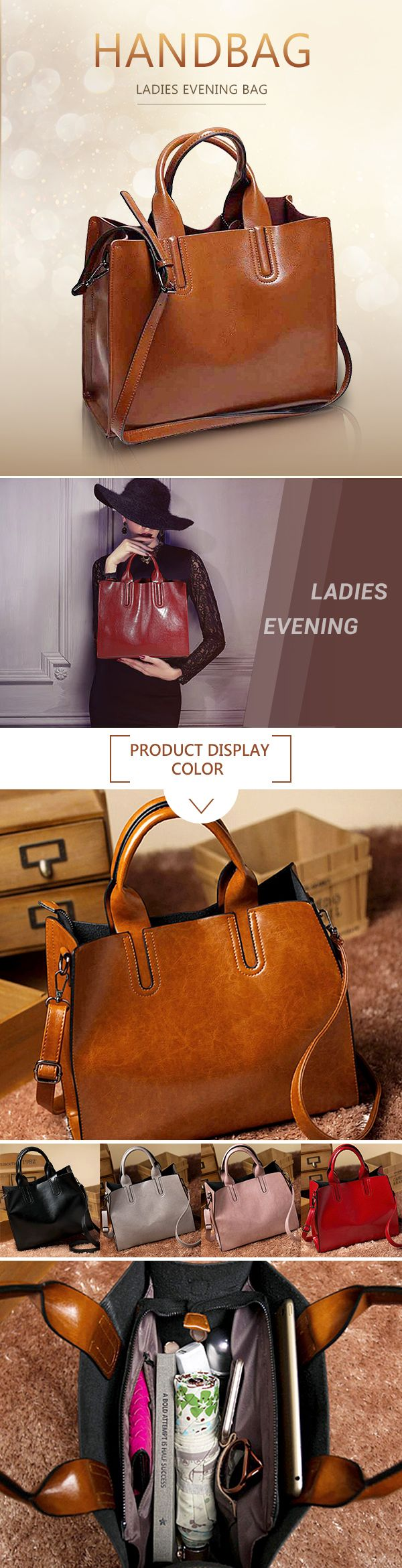 [$ 26.39]   Ladies Evening Bag Tote Bag Square Evening Bag PU Handbag Crossbody Bag