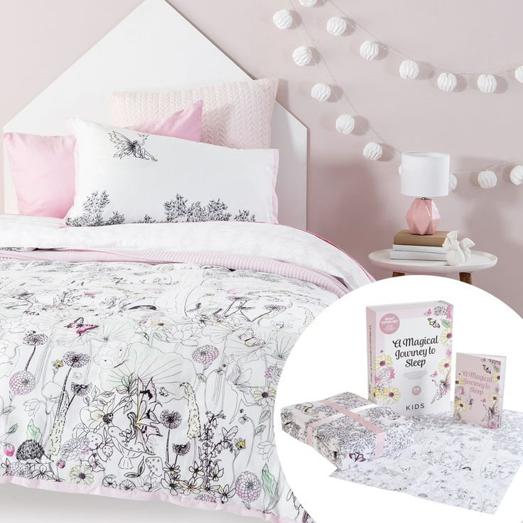 Fairy Tale Quilt Cover Set with Gift Box