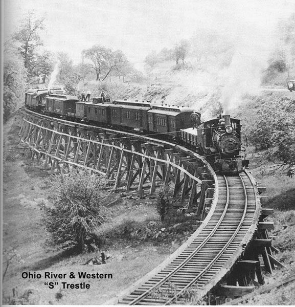 Railroad Line Forums: 22 Best Ohio River And Western Railroad Images On