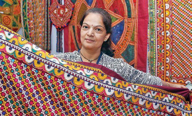 Gujarat Utsav expo showcases Kutch sarees, imitation jewellery and handcraft items at Gujarati Samaj in Mettupalayam road in Coimbatore on Friday.