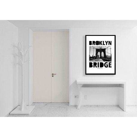 Brooklyn Bridge. Snygg Posters. Inredning Online hos http://www.wallstars.se