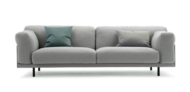 Ted sofa in Stitch fabric