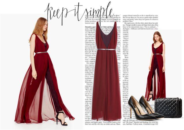 Платье комбинезон - стильный вечерний образ
