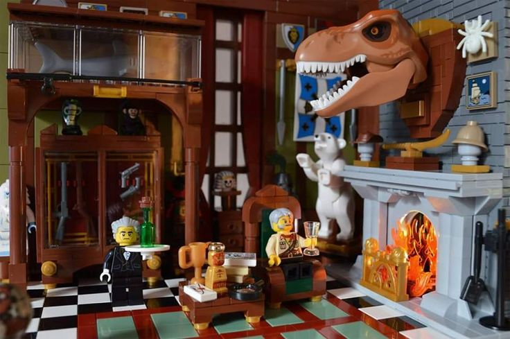 Lego Dinosaur Hunter's Lodge